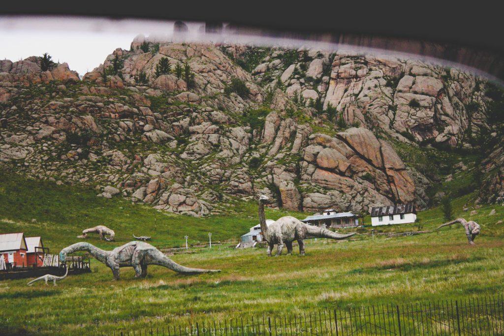 Dinosaur statues at Gorkhi-Terelj National Park 2012 012