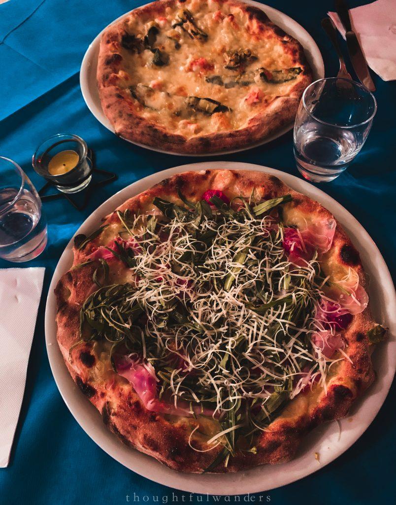 Pizza Bomerano Amalfi Coast