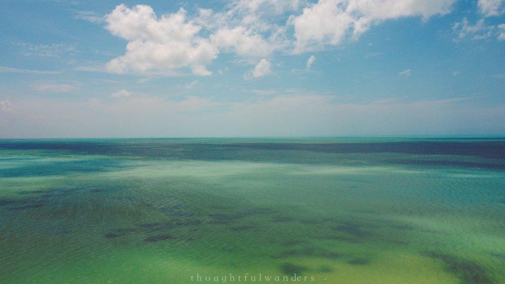 Isla Holbox drone footage views