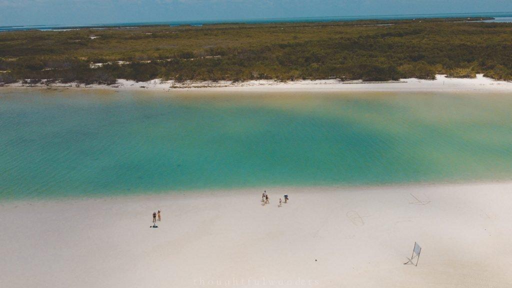 Drone photography Isla Holbox