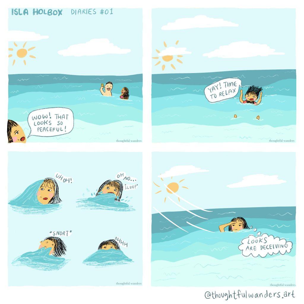Comic Isla Holbox