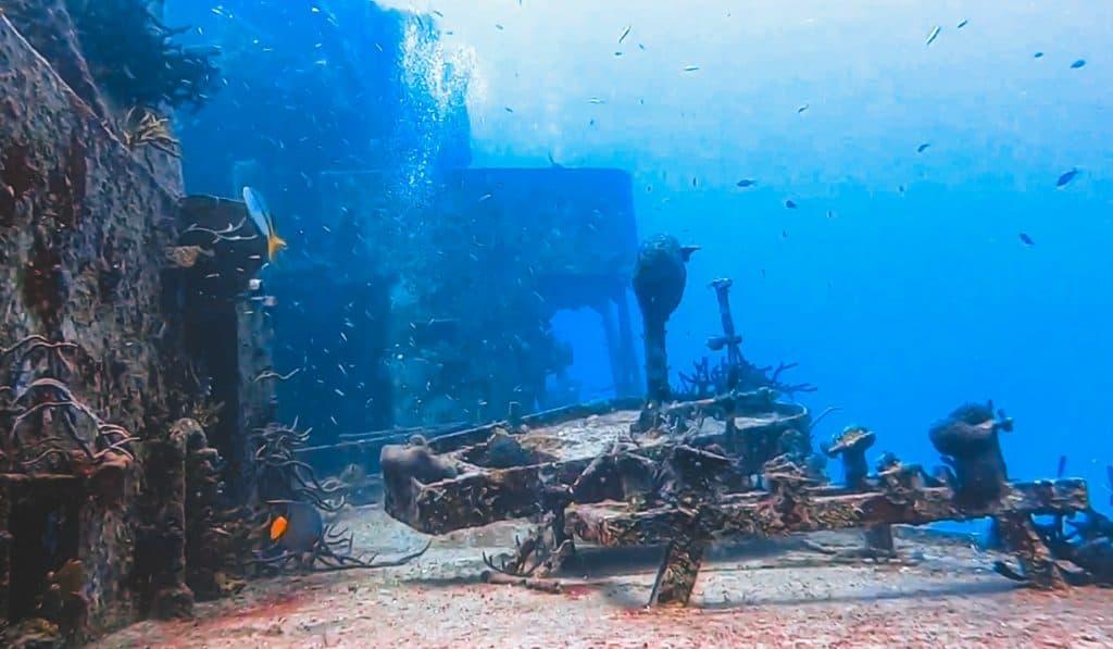Cozumel wreck site